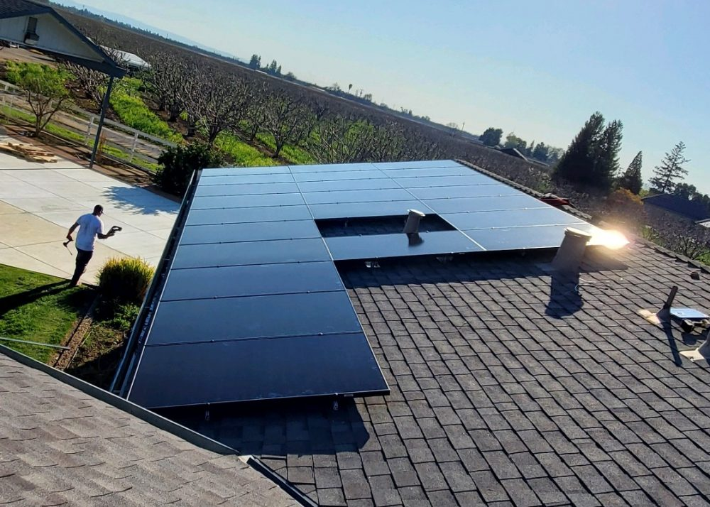 Solar Installation in Placer County